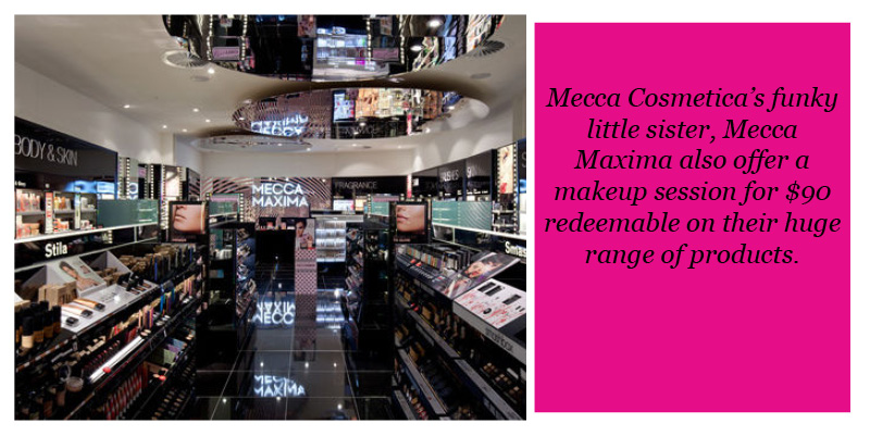 Mecca makeup services