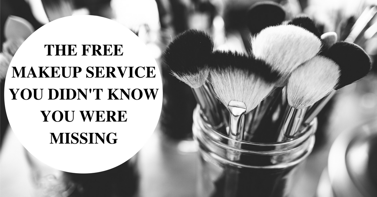 The free makeup service you didn't know you were missing