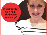 Wardrobe Staple: the Breton Stripe Top!