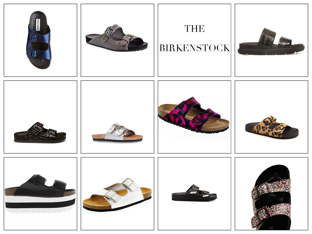 White sandals rubi shoes - The Birkenstock Ugly Summer Shoes
