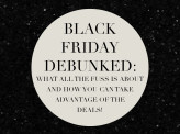 What's all the fuss about Black Friday?