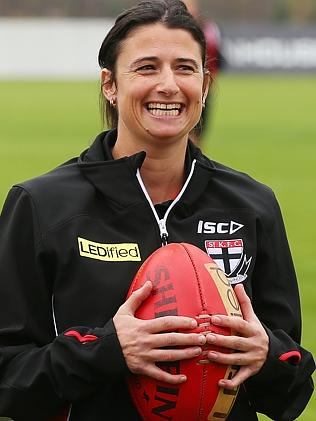 Best Moments for Women: Peta Searle is the AFL's first lady coach