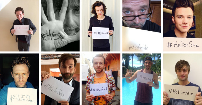 Best Moments for Women: Fellas embrace #HeForShe
