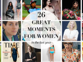 The 26 best moments for women in the last year