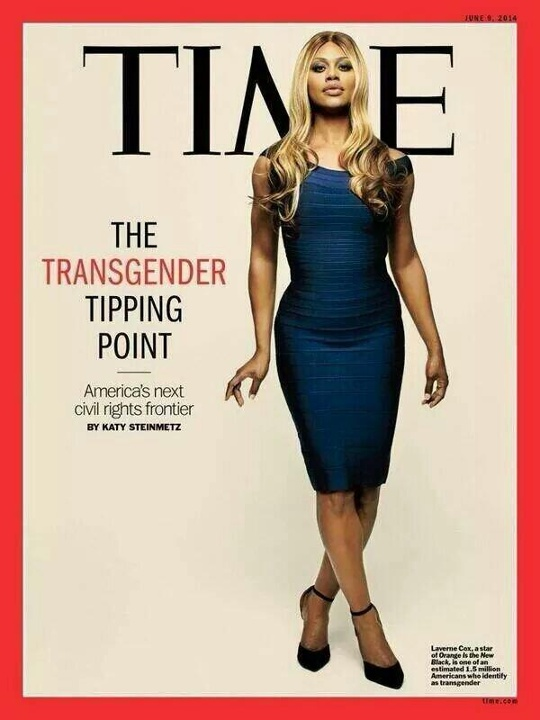 Best Moments for Women: Laverne Cox does Time