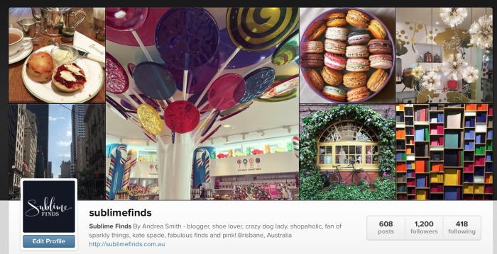 Sublime Finds Instagram Feed @sublimefinds
