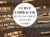 Sublime Find of the denim kind: Jeanswest Curve Embracers