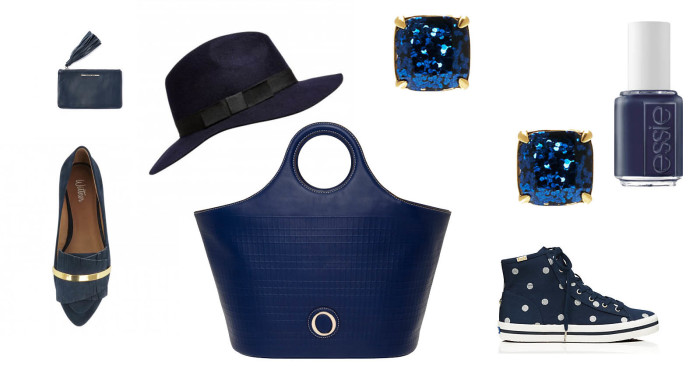 New Season Navy Accessories