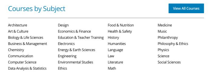 EdX Courses