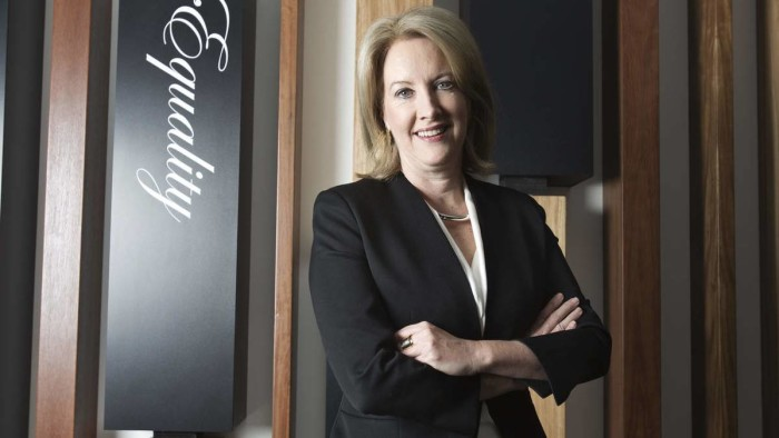 Australian of the Year nominee Elizabeth Broderick