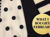 Blowouts and Blues: what I bought in February