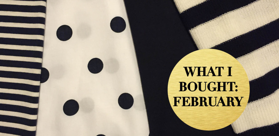 What I bought February cover