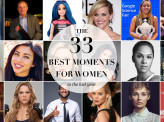 The 33 best moments for women in the last year