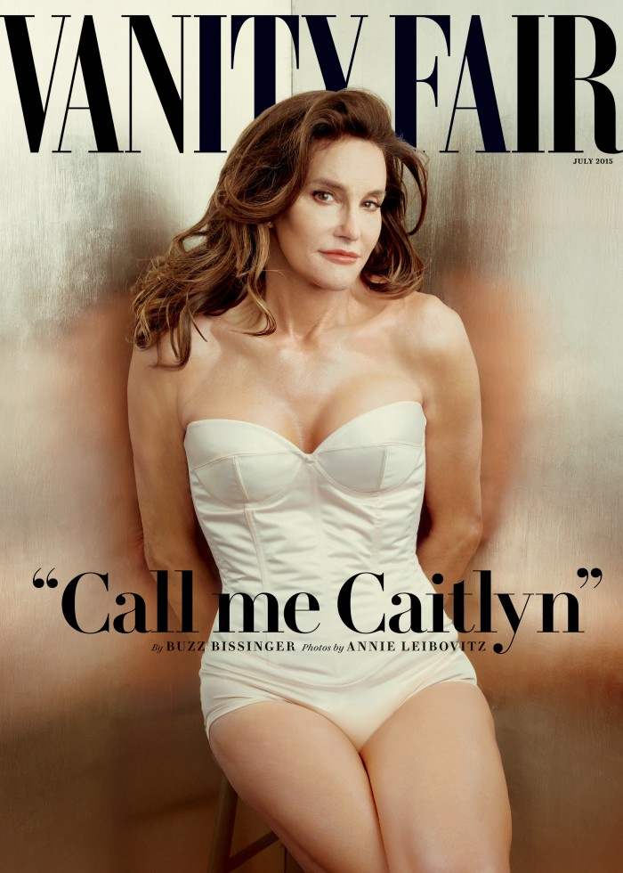 Caitlyn Jenner, formerly known as reality television star and former Olympic athlete Bruce Jenner, poses in an exclusive photograph made by Annie Leibovitz for Vanity Fair magazine and released by Vanity Fair on June 1, 2015.  REUTERS/Annie Leibovitz/Vanity Fair/Handout via Reuters   ATTENTION EDITORS - NO SALES. NO ARCHIVES. FOR EDITORIAL USE ONLY. NOT FOR SALE FOR MARKETING OR ADVERTISING CAMPAIGNS. THIS IMAGE HAS BEEN SUPPLIED BY A THIRD PARTY. IT IS DISTRIBUTED, EXACTLY AS RECEIVED BY REUTERS, AS A SERVICE TO CLIENTS. MANDATORY CREDIT. NO COMMERCIAL USE.