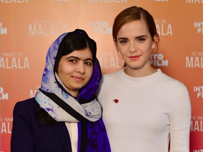 Malala Yousafzai Emma Watson