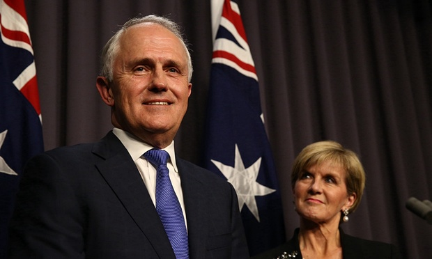 Malcolm Turnbull Julie Bishop