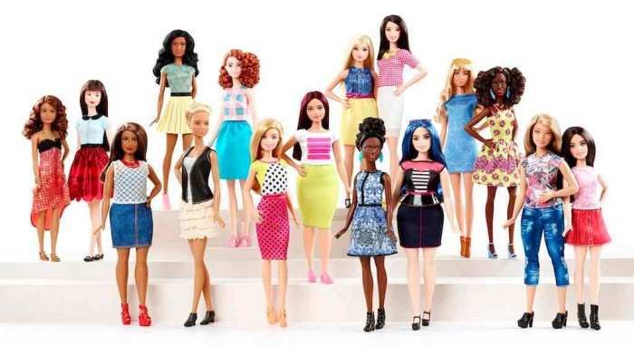 barbie whole range