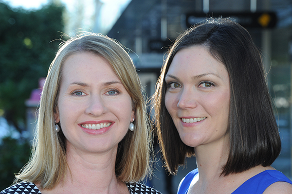 Femeconomy founders Jade Collins and Alanna Bastin-Byrne