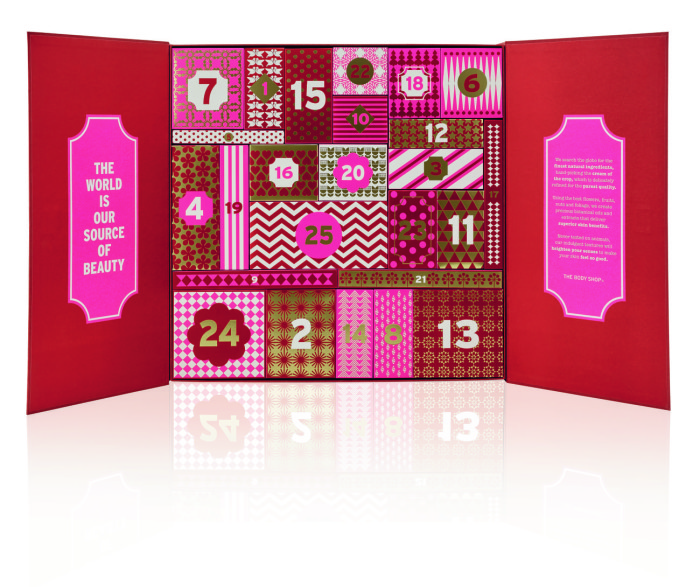 2016 Beauty Advent Calendars - The Body Shop Deluxe