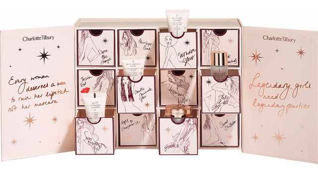 2016 Beauty Advent Calendars Charlotte Tilbury