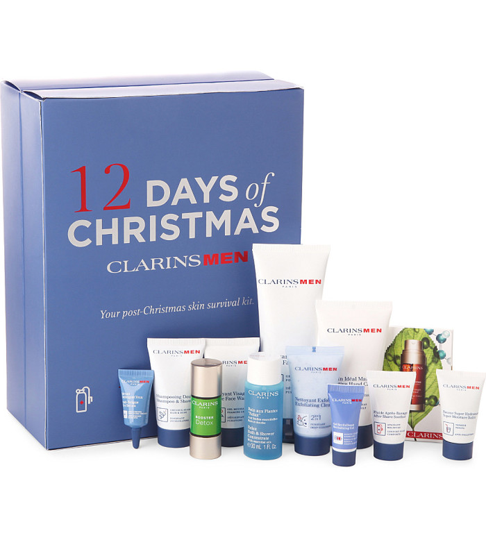 2016 Beauty Advent Calendar Clairns Men