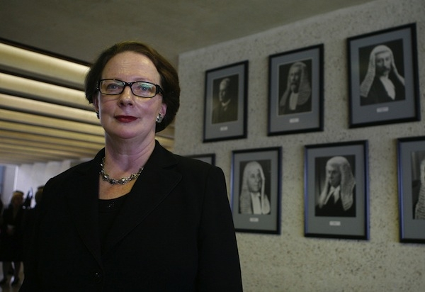 Best moments for women: Susan Kiefel Chief Justice of Australia