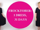 1 dress, 31 days: my Frocktober fundraising challenge