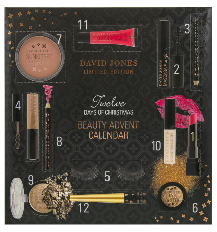 2017 Beauty Advent Calendars, David Jones