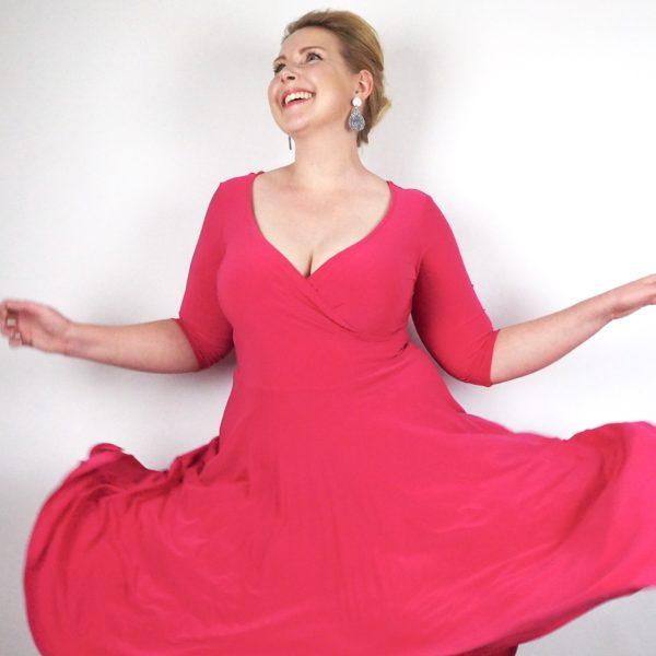 Leina Broughton Stella Dress in Pink