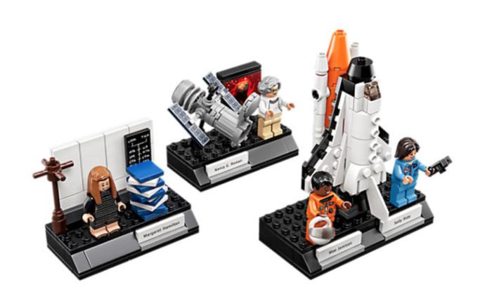 Women of NASA lego set, $49.99