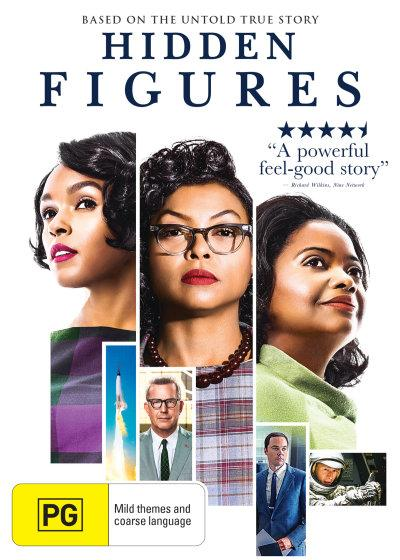 Hidden Figures DVD, $14.40 via Booktopia