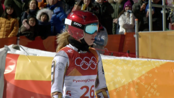 Ester Ledecka makes history with gold in ski and snowboard events images